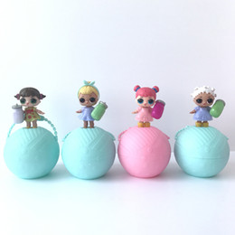Wholesale Toy Dolls For Girls - 10cm Diameter Girls Doll Toys Ball Toys LOL Surprise Doll Ball Toy With Retail Packaging For Girls Christmas Gift