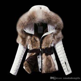 Wholesale Cheap Hoodie Jackets - Fashion Winter Down Jackets Warm Women m Cold Slim Hoodies with fur Short Brand Designer monclar ladies Outdoor Outwear Coat Cheap Sale