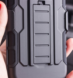Wholesale Iphone Wholesalers Ca - 2016 Future Armor Impact Hybrid Case For iphone 7 plus Note 7 LG Case With Belt Clip Holster Kickstand Combo Case vs poke go Anti-gravity Ca