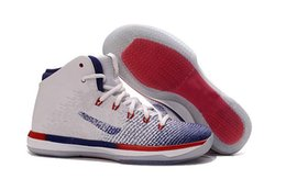 Wholesale Box Brazil - Free Shipping 2016 RETRO XXX1 Brazil Olympic USA Fine Print Shattered Backboard Basketball Shoes Mens 31s Sports Sneakers New In Box