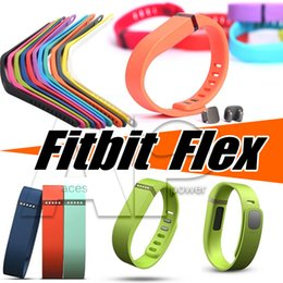 Wholesale Browning Bracelets - Fitbit Replacement TPU Wrist Band & Clasp For Flex Bracelet Activity Bracelet Wristband With Metal Clasp (No Tracker) Opp Package