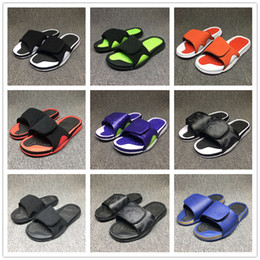 Wholesale Summer Slippers Sale - Hot Sale 9 Colors !! Summer Retro 4 Slippers Hydro IV Airs 4s Sandals Men's Fashion Outdoor Casual Basketball Sneakers Slippers Size 40-47
