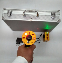 Wholesale Long Range Metal - Big Seller Long Range AKS Gold Treasure Detector Diamond Detecting Machine Metal Detector Machinery + Free shipping