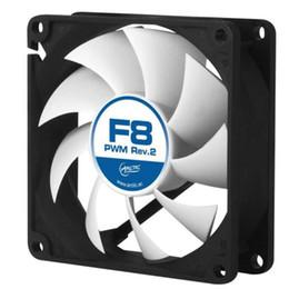 Wholesale Genuine Amd Coolers - Wholesale- Arctic F8 PWM 4pin 8cm 80mm 800~2000rpm Cooler cooling fan temperature control silent fan Genuine original
