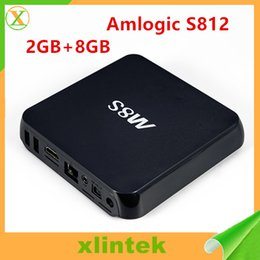 Wholesale Smart Android Box Quad Core - Full-HD M8S Android TV Box Media Player High Quality Satellite Cable TV Box Quad Core HDMI USB Smart Android TV Box