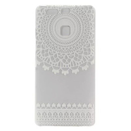 Wholesale Tribal Pc Case - Hard Plastic Case Cover For Huawei Ascend P9 Lite HENNA OJIBWE DREAM CATCHER Ethnic Tribal Shell Coque PC clear case