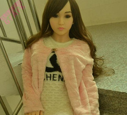 Wholesale Realistic Japanese Mini Sex Dolls - Lifelike sex doll real silicone mini sex dolls realistic silicon vagina japanese real love doll life size male sex dolls for men