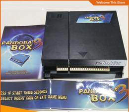 Wholesale Jamma Arcade Game Pcb Board - Jamma arcade fighting Pandora Box 3,520 in 1 game board game pcb