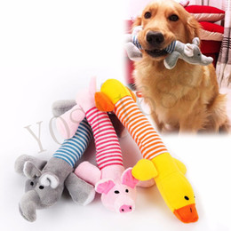 Wholesale Dog Products Accessories - Dog Cat Pet Chew Toys Canvas Durability Vocalization Dolls Bite Toys for Dog Accessories pet dog products