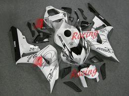 Набор для деконга honda онлайн-Горячие новые наклейки Белый обтекатель кузова комплект Honda CBR1000RR 2006-2007 029.