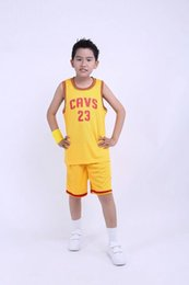 Wholesale Boys Sports Set - 2016 hot sale Summer Children Clothing Set Boys Vest Shorts Sport Suits Kids Basketball tracksuit Clothes Girls Casual Sleeveless T-Shirt