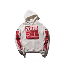 Wholesale Loose Leisure Hoodie - High street in Europe and America to restore ancient ways hip-hop letters printing loose hooded fleece hoodie leisure men and women