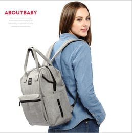 Wholesale Diaper Bags Fashion Handbags - Diaper Mommy Bags Nappies Maternity Backpacks Handbags Mother Fashion Backpack Outdoor Nursing Travel Bags Organizer 5 Colors 30pcs OOA2506