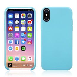 Wholesale Bumper Case Scratches Iphone - For iPhone 8 X TPU Case Cover Shock Absorption Flexible Bumper Anti Scratch Cover with Opp Bag US1