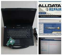 Wholesale Yamaha 52 - Window 7 Newest Alldata Repair Software Alldata 10.53 and mitchell on demand 2015 Fit for multi-brand cars installed well in CF-52 toughbook