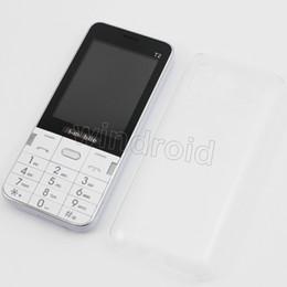 "Wholesale Screen Quad Band Dual Sim - Cheapest 100 H-Mobile T2 2.8"" Mobile Phone Dual Sim Quad Band 2G GSM Phone Unlocked Back Camera + Flashlight Bluetooth FM MP3 Free shipping"