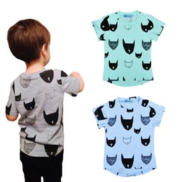 Wholesale Tshirt Babies - Retail 2016 Brand Summer Kids Tshirt Cartoon Baby Clothes Batman Printed Short Sleeves Boys Girls T-shirts High Quality Children Clothing