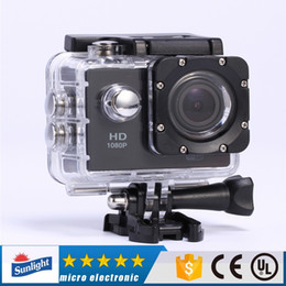 Wholesale Rock Records - 10pcs S5 1080P Full HD Action Digital Sport Camera 2 Inch Screen Under Waterproof 30M DV Recording Mini Sking Bicycle Photo Video Cam