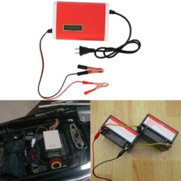 Wholesale Cheap Car Battery Chargers - New 12-24V 10A Digital LCD Car Battery Charger Lead-Acid Motorcycle Power supply charger hot selling# Cheap charger display