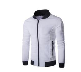 Куртка qiu dong онлайн-Внешней торговли новых мужчин цю Дон плед хлопок молнии воротник цвет флис куртка J20