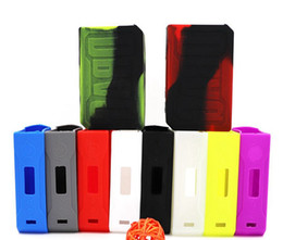 Wholesale Rubber Bags - VOOPOO DRAG 157W Silicone Cases Silicon Skin Cover Bag Rubber Sleeve Protective Covers Skin For VOOPOO DRAG 157 W TC Box Mod Vape