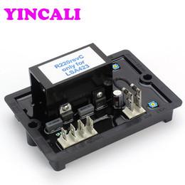 Wholesale Alternator Voltage Regulator - R220 automatic voltage regulator avr with numerical regulation function for diesel generator alternator brushless generator avr