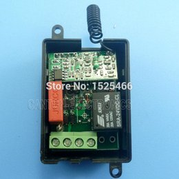 Wholesale receiver codes - 433Mhz AC 220V Wireless RF Relay Learning code Receiver for EV1527 PT2262 ASK OOK keyfob
