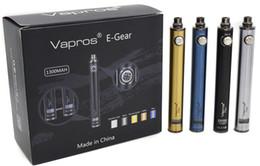 Wholesale Ego Vv Twist - Vision Spinner III Vapros Spin 3 X.Fir e cigarette battery 1300mAh VV battery VS Spinner II 2 eGo Evod Twist Batteries