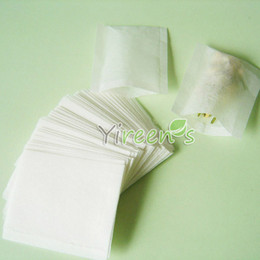 Wholesale Factory Outlet Bags - Factory Outlet! Sell 1000pcs set 50 X 60mm filter paper tea bag, Heat sealing tea filters, food-grade Filter paper, Herb bags, coffee pads