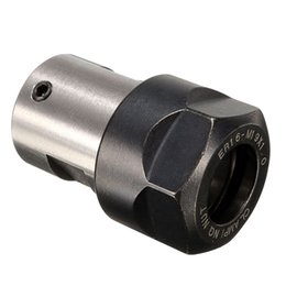 Wholesale Spindle Milling - Wholesale- Best Price Collet ER16A Chuck Motor Shaft Spindle Extension Rod Inner 5mm For CNC Milling Newest