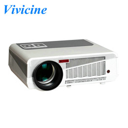 Wholesale Manuals Lcd - Free gift 100inches screen fabric ,3000lumens Android 4.4 Projector Full HD LED Daytime Projector LCD 3D Wifi smart projector Proyector