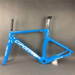 Wholesale Carbon Frameset 58cm - Clipollini NK1K glossy carbon road bike frame black matte 3K carbon weave bike frame NK1000 frameset free shipping