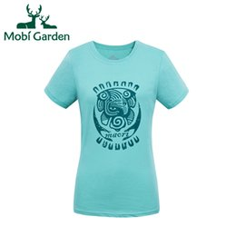 Wholesale Uv Protection Shirts - Wholesale-Mobi Garden Outdoor Running Hiking Windproof UV Protection Charming T-shirts Women Sports Shirts For Lovers ZWA1404072 MTS1076