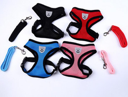 Wholesale Roping Breast Collar - Protective back breast strap; dog vest type traction rope; mesh chest strap