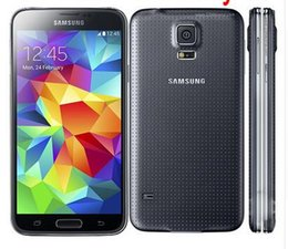 Wholesale Galaxy S5 Unlocked - Samsung S5 I9600 Original Unlocked Galaxy S5 I9600 G900A G900F G900H 16MP Quad-core GPS WIFI Refurbished Mobile Phone