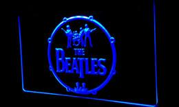 Faixas de néon on-line-LS152-b, a, faixa beatles, música, tambores, luz néon, sinais