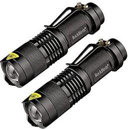 Mini lanterna super led on-line-2017 Rockbirds Lanterna LED, A100 Mini Super Brilhante 3 Modo Tactical Lanterna, Melhores Ferramentas para Caminhadas, caça, pesca e Camping
