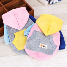 Wholesale Wholesale Shoes South Korea - South Korea WOW pet clothes pet SWEATER HAT ribbon fight feet special offer dog clothes