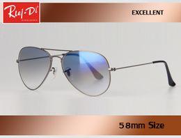 Wholesale Fashion Drivers - New brand Pilot Rlei di Sunglasses Men gradient Sun Glasses For women Driving Sunglasses Driver Famous Luxury designer Oculos Lunette gafas