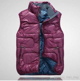 Wholesale Bamboo Counter - Hot! 2017 Quality men's new men's down vest vest men high velvet warm genuine counter Outwear Vests #546353