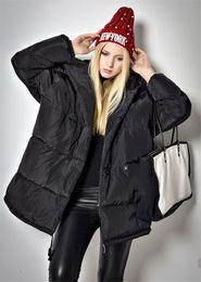 Wholesale Double Hood Jacket - 2016 Winter Down Jacket White Duck Down Women Medium Jacket Coats Female Thickening Streetwear Warm Hood Over Coat Parkas C04