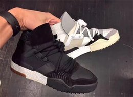 Wholesale Brand New Casual Sneakers - New Designer crossover brand Leather Ankle Boots flat boost Mens Sneakers Womens casual shoes Fashion White   Black   Brown Leather
