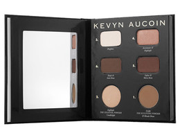 Wholesale Books Oils - Kevyn Aucoin Beauty Launches The Contour Book The Art of Sculpting + Defining Palette Face Bronzer Beauty Makeup Blender DHL Free Shipping