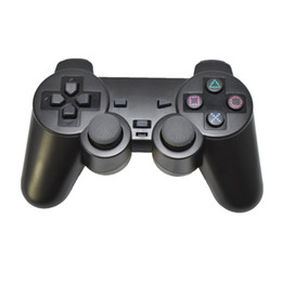 Wholesale Video Games Play - 2.4G wireless game controller gamepad joystick for PS3 console playstation 3 video gaming play station for pc pc360