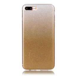 Wholesale Stylish Mobile Cover Wholesale - Ultra Thin Shining Mobile Phone Cover Bling Glitter Soft TPU Case Girl Woman Stylish for Iphone 7