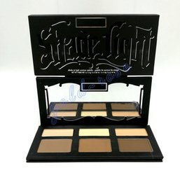 Wholesale New Waterproof - HOT New SHADE & LIGHT CONTOUR PALETTE 6 Colors Bronzers & Highlighters Palette DHL Free shipping+GIFT
