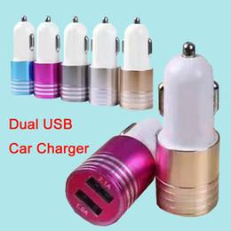 Caricabatteria da auto universale USB caricatore da auto mini USB per iPhone 7 iPad Samsung S7 Huawei P9 senza confezione DHL Free CAB145 da xiaomi mi box fornitori