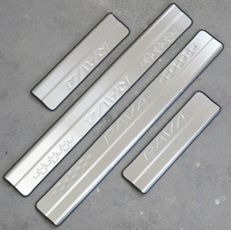 Wholesale toyota door sills - For 2013 2014 2015 2016 Toyota RAV4 RAV 4 Stainless Steel Scuff Plate Door Sill Welcome Pedal Car Styling Accessories 4pcs set