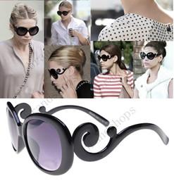 Wholesale Eye Glasses Shades - luxury brand sunglasses designer vintag Eyewear Italy girls round Sunglasses women shades Fashion sun glasses with original Zipper case