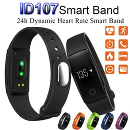 Wholesale Wholesale Items For Home - Hot Sale item ID107 Bluetooth 4.0 Smart Bracelet smart band Heart Rate Monitor Wristband Fitness Tracker for Android iOS Smartphone